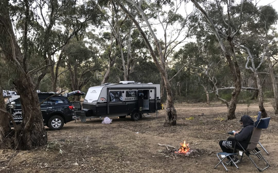 Maldon Victoria. Free camp.