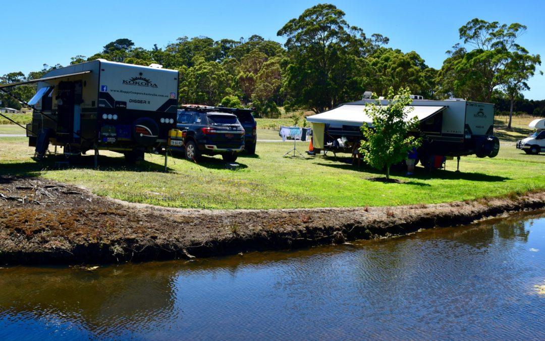 Smithton Tasmania. Tall Timbers Free Camp.