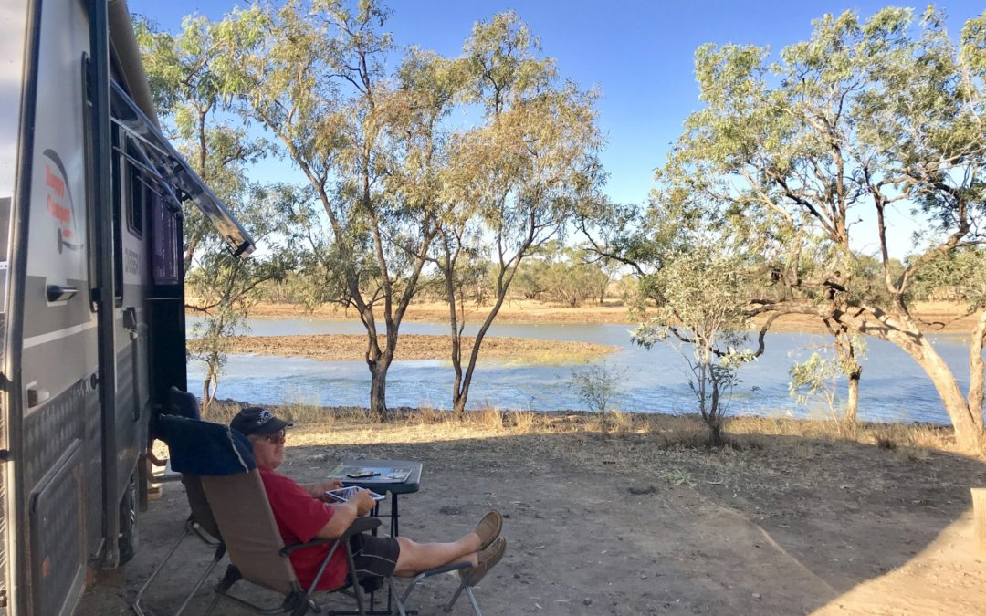 Camooweal Billabong QLD – Free Camp