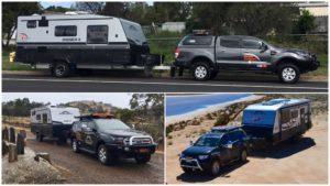 Tow Vehicle Comparison – Challenger, Everest, Ranger