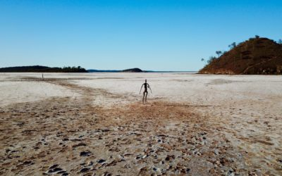 Lake Ballard WA. Free Camping amongst Antony Gormley sculptures.