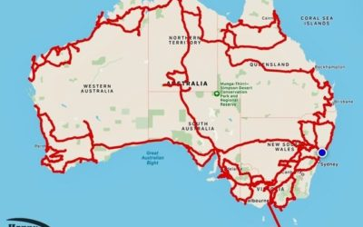 65,000 km and 18 months Touring Australia – The Stats